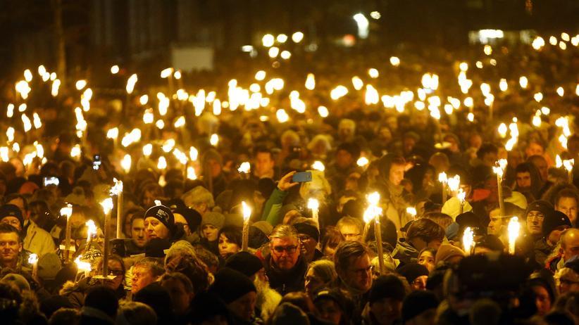 Anschlag: Gedenken an die Terroropfer von Kopenhagen