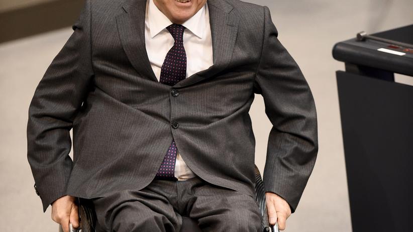 Schuldenkrise: Finanzminister Wolfgang Schäuble