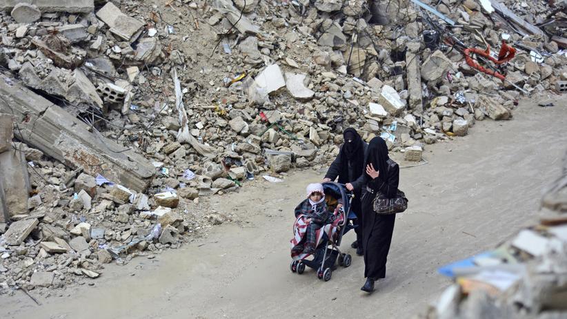 Vereinte Nationen: Syrische Flüchtlinge aus der eingeschlossenen Provinz Daraa