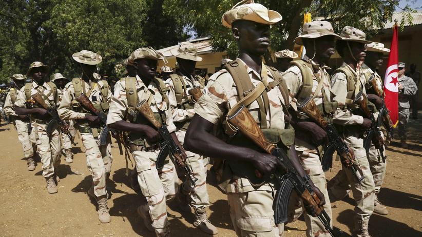 Terror: Die Armee des Tschad unterstützt den Kampf gegen Boko Haram in Kamerun.