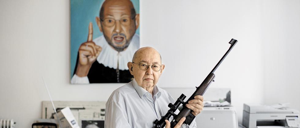 Waffenbesitz: Gut in Schuss