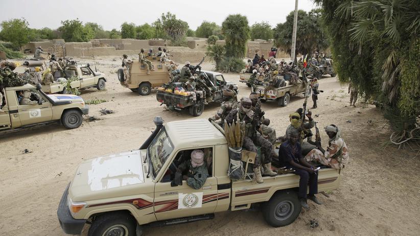 Nigeria : Soldaten des Nachbarlandes Tschad hatten geholfen, die nigerianische Stadt Damasak von den Islamisten zurückzuerobern.
