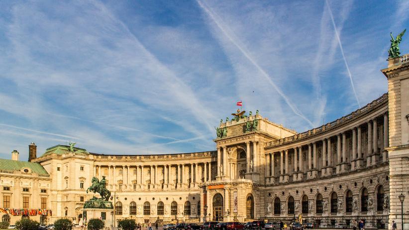 Hofburg und Heldenplatz Wien