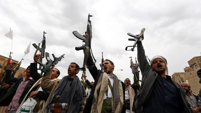 Jemen: Huthi-Rebellen in der Hauptstadt Sanaa.