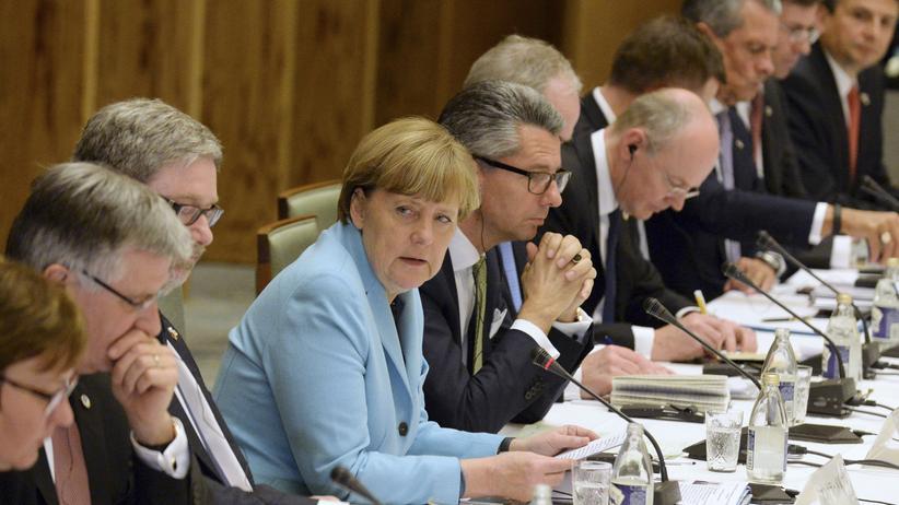 Ukraine-Konflikt: Bundeskanzlerin Angela Merkel (CDU)