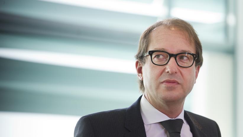 Deutsche Bahn: Bundesverkehrsminister Alexander Dobrindt, CSU (Archiv)