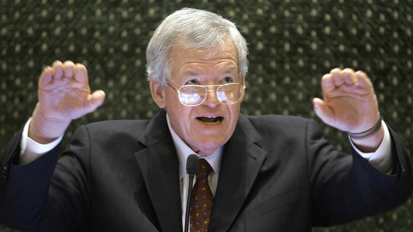 Justiz: Gegen den Ex-Vorsitzenden des US-Repräsentantenhauses, Dennis Hastert, wird ermittelt. (Archivbild)
