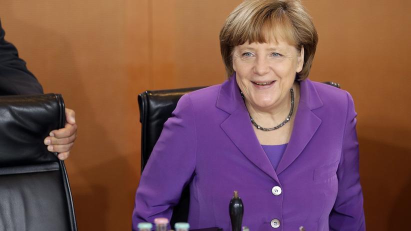 """Forbes-Liste: Bundeskanzlerin Angela Merkel wurde von """"Forbes"""" zum fünften Mal in Folge zur weltweit mächtigsten Frau gewählt."""