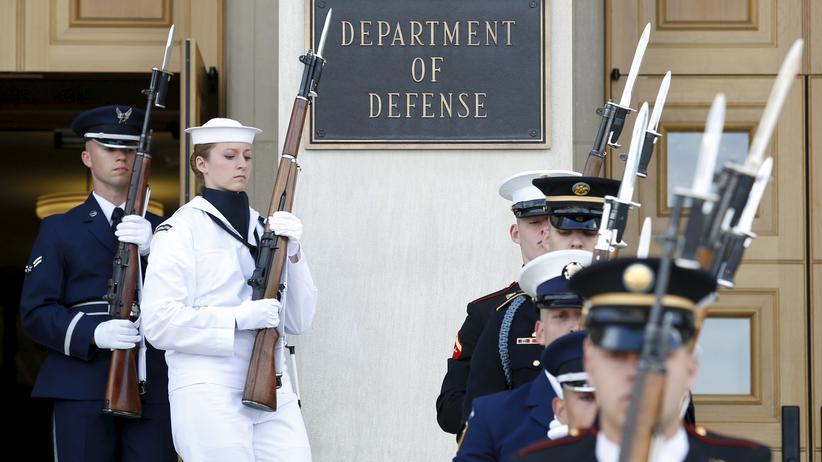 Syrien: US-Verteidigungsministerium