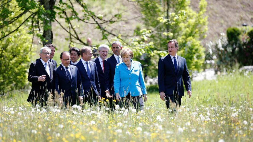 Elmau-Gipfel: Die G 7 allein können es nicht richten