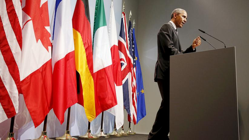 G 7 Schloss Elmau Barack Obama