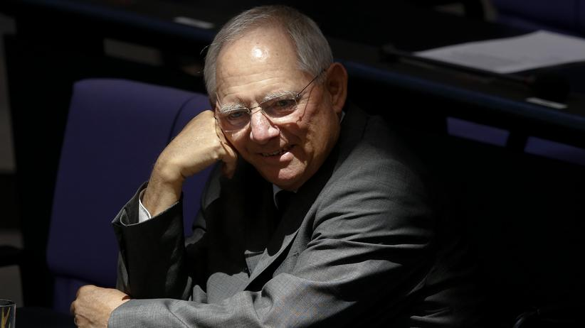 Politik, Wolfgang Schäuble, Wolfgang Schäuble, Finanzminister, CDU, Griechenland, Euro-Krise, Helmut Kohl, Angela Merkel
