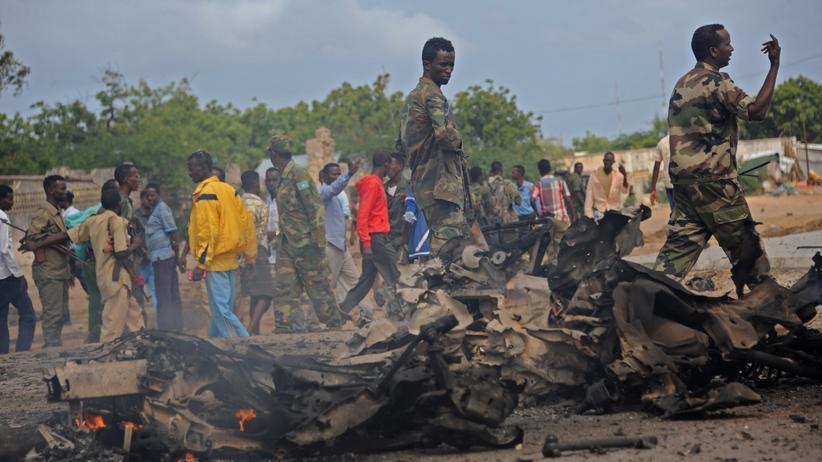 Politik, VON AUSSEN, Somalia, Journalismus, Exil, Extremismus, Mord, Mogadischu