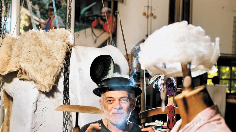Nonseum: Nonseum-Gründer Gall inmitten seines ausgeklügelten Unfugs: Das Museum ist eine Touristenattraktion