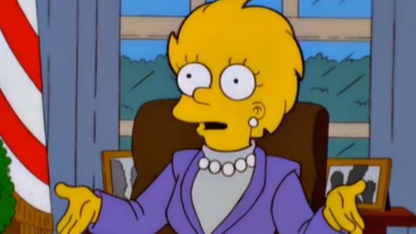 """Vision bei """"The Simpsons"""": Wie Donald Trump die USA in die Pleite trieb"""