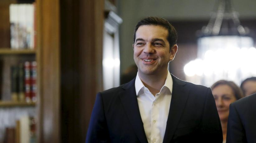 Griechenland: Der griechische Ministerpräsident Alexis Tsipras