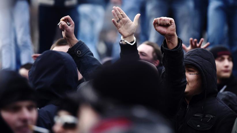Rechtsextremismus: Neonazis in Hannover (Archivbild)