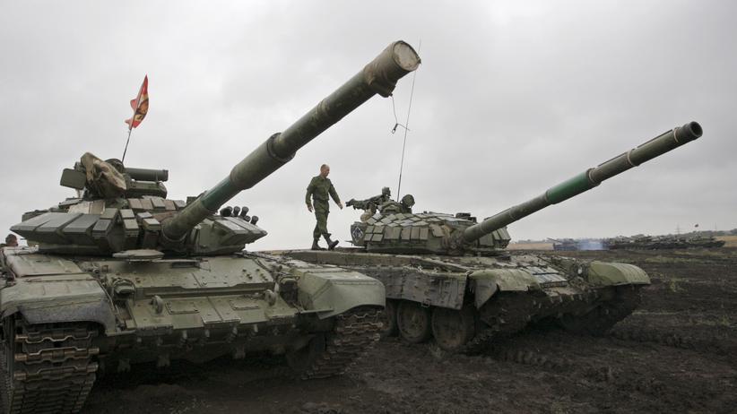 Russland und die Ukraine vereinbaren Waffenabzug