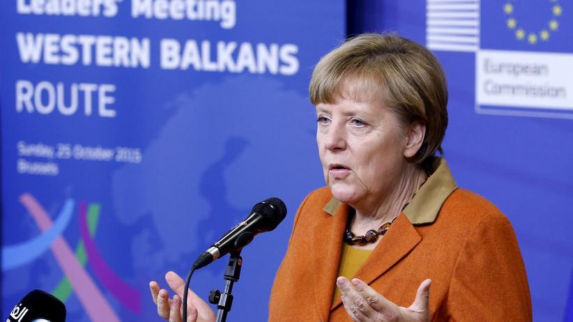 Flüchtlingskrise: Bundeskanzlerin Merkel beim EU-Sondergipfel