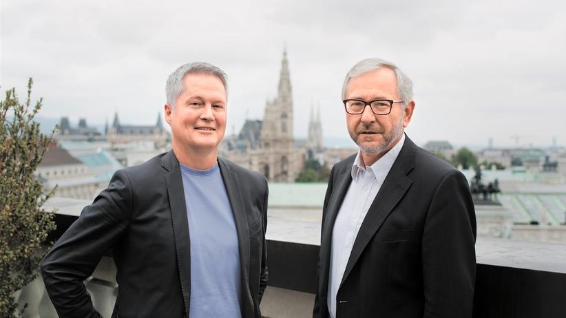 David Ellensohn und Rudolf Schicker