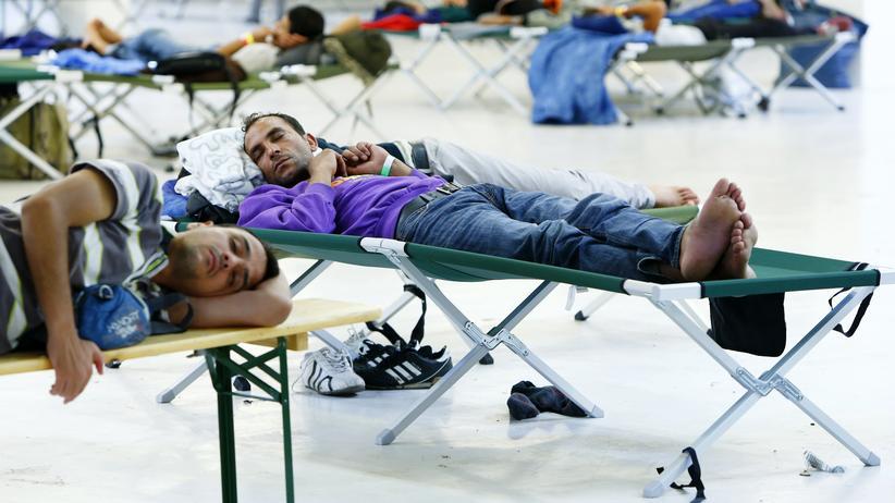 Flüchtlingszahlen: Flüchtlinge in Freilassing