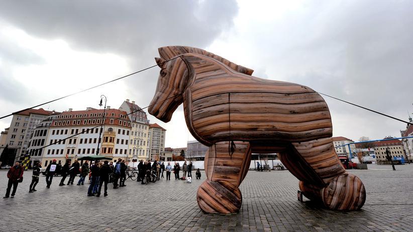 Anti-TTIP-Demonstration in Dresden
