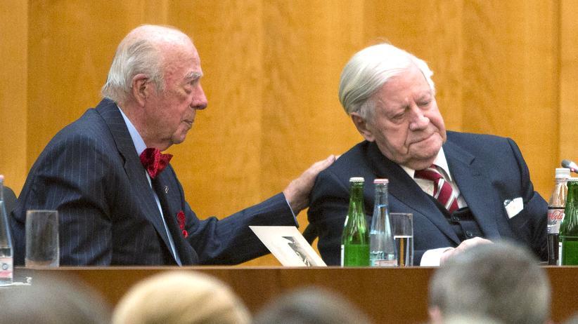 Helmut Schmidt: Ein wahrlich großer Mann
