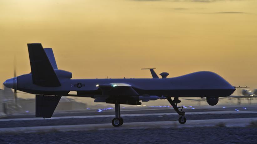 USA: US-amerikanische Drohne in Kandahar, Afghanistan (Archiv)
