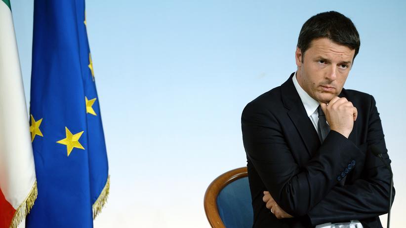 """Islamischer Staat"": Italiens Premierminister Matteo Renzi"