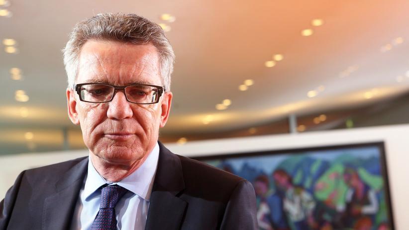 Istanbul: Bundesinnenminister Thomas de Maiziere