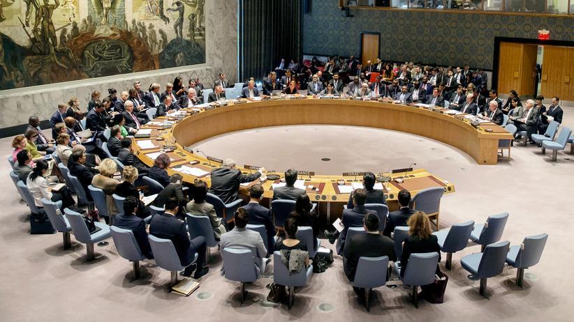 Eine Sitzung des UN-Sicherheitsrates (Archivbild)