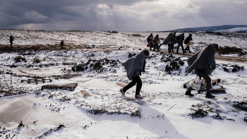 Bulgarien: Flüchtlinge auf der sogenannten Balkanroute in Serbien