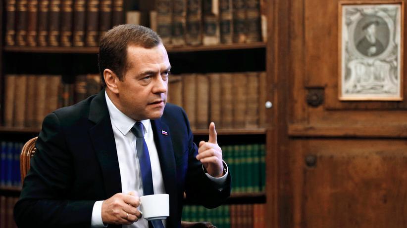 Russlands Regierungschef Dimitri Medwedew