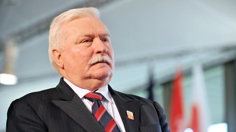 Polen: Polens Expräsident Lech Wałęsa (Archivbild)