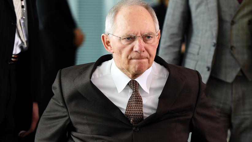 Sozialpaket: Bundesfinanzminister Wolfgang Schäuble (CDU)
