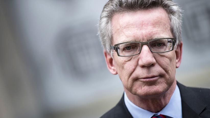 Asyl: Innenminister Thomas de Maizière