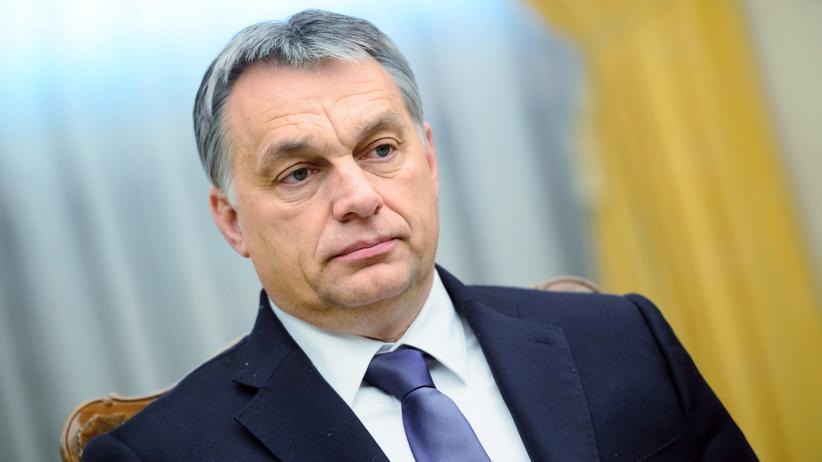 Viktor Orbán: Ungarns Premier Orbán bei einem Besuch in Slowenien im Januar