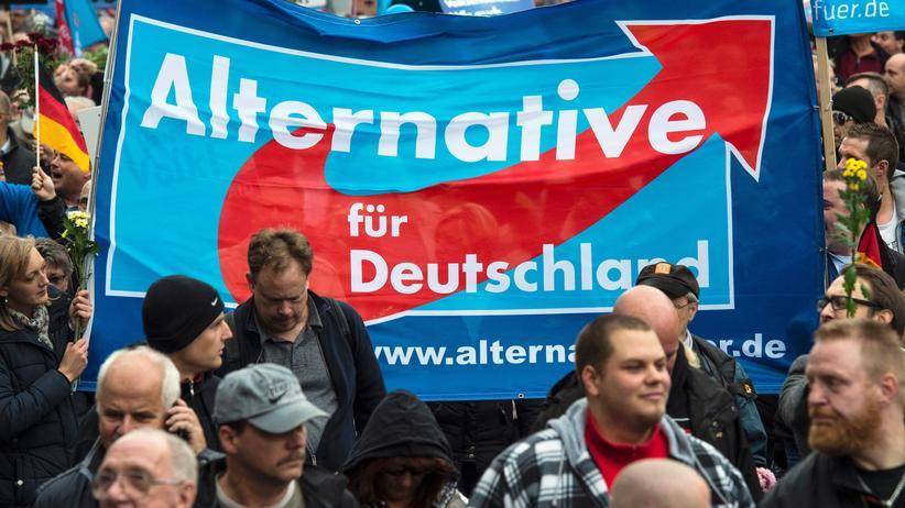 Alternative für Deutschland: Bei den Landtagswahlen am 13. März konnte die AfD in allen drei Bundesländern zweistellige Ergebnisse erzielen. In Sachsen-Anhalt wurde sie zweitstärkste Kraft.