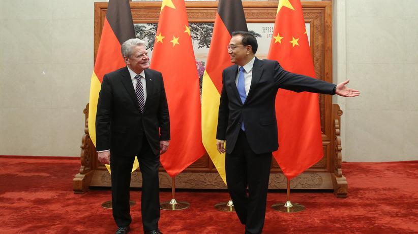 Menschenrechte: Wegweiser für Bundespräsident Gauck: Der chinesische Premier Li Keqiang.