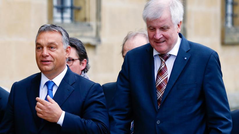 Viktor Orbán: Viktor Orbán und Horst Seehofer wollen über die Flüchtlingskrise beraten.