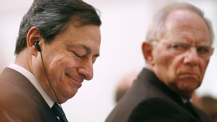 Europäische Zentralbank: Der Schäuble-Draghi-Pakt bröckelt