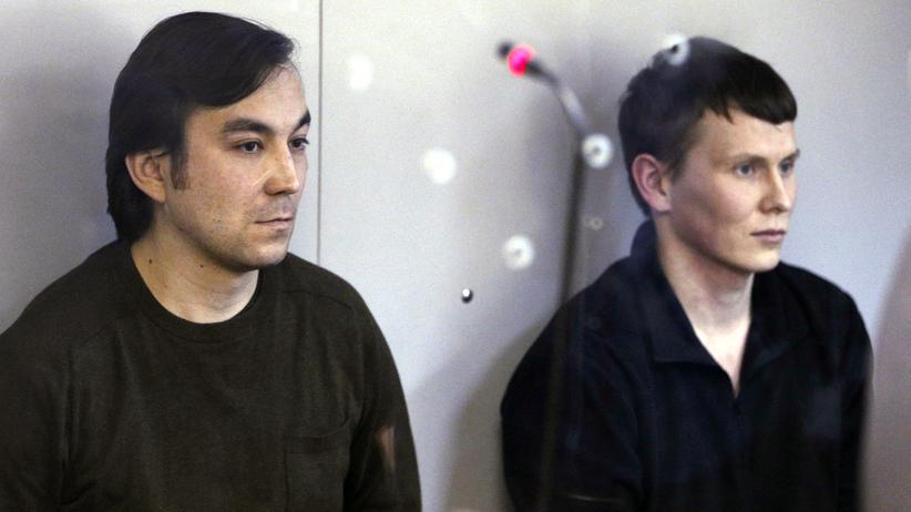 Ukraine: Alexander Alexandrow und Jewgeni Jerofejow