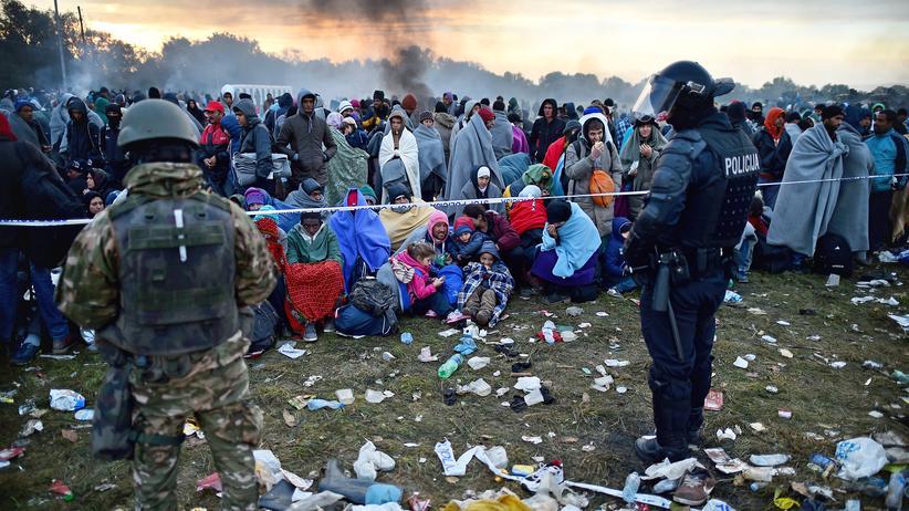 Rigonce Slovenien Flüchtlinge
