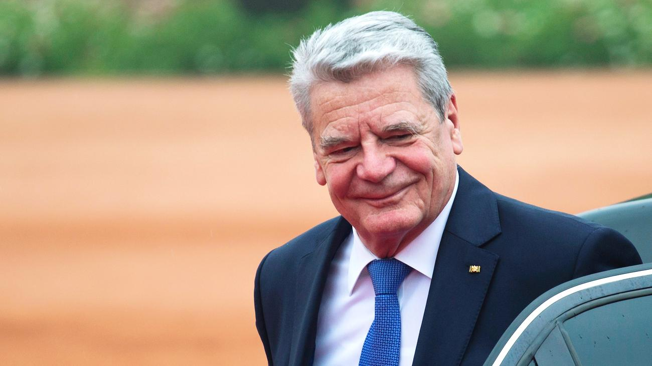 Bundespräsident Gaucks Mittelweg