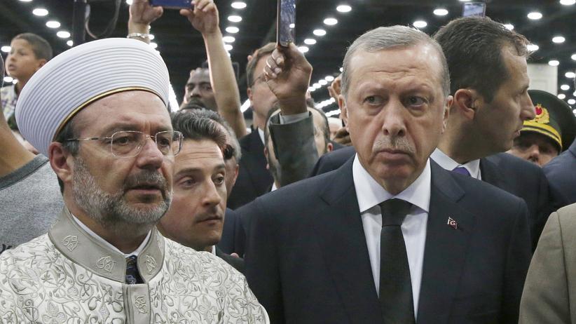 Louisville: Erdoğan verlässt Trauerfeier von Muhammad Ali