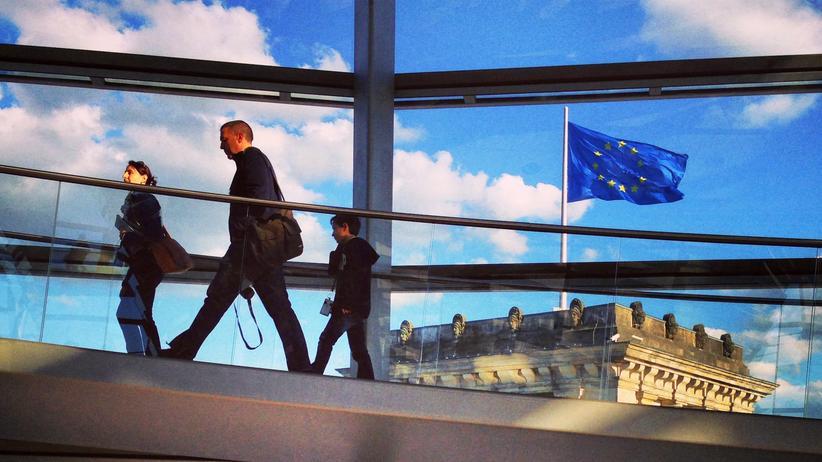 ARD-Deutschlandtrend: Wird in Deutschland mehr positiv als negativ bewertet: Die Mitgliedschaft in der Europäischen Union