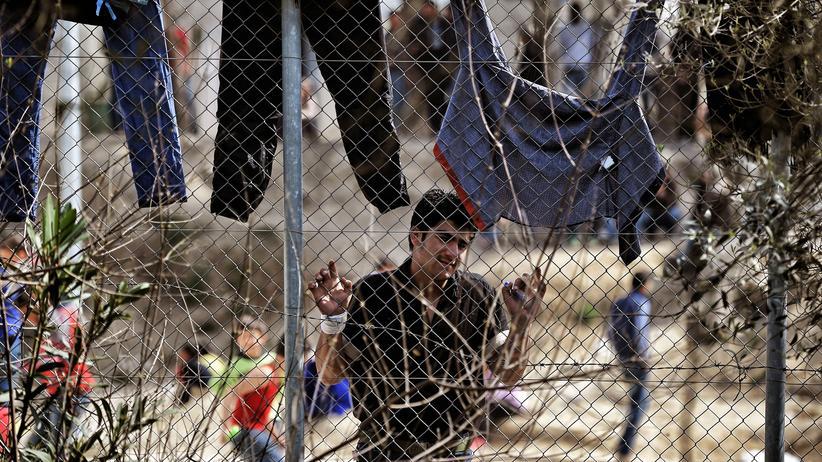 Flüchtlinge: Die Unterkünfte wie hier in Lesbos sind überfüllt