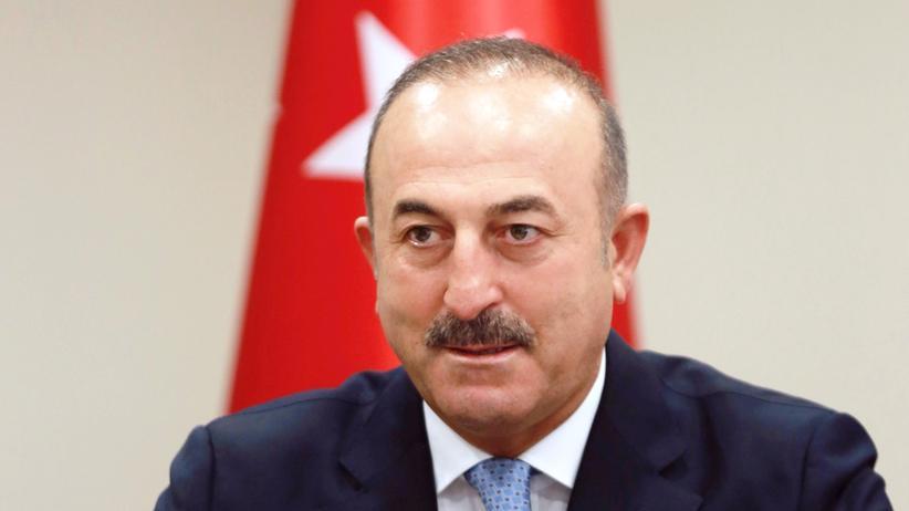Mevlüt Çavuşoğlu : Der türkische Außenminister Mevlüt Çavuşoğlu gibt am 29. Juli eine Pressekonferenz in Ankara.