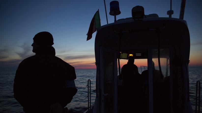 Europäischer Grenzschutz: Ein portugiesisches Frontex-Team auf Patrouille in der Ägäis zwischen Türkei und Griechenland.