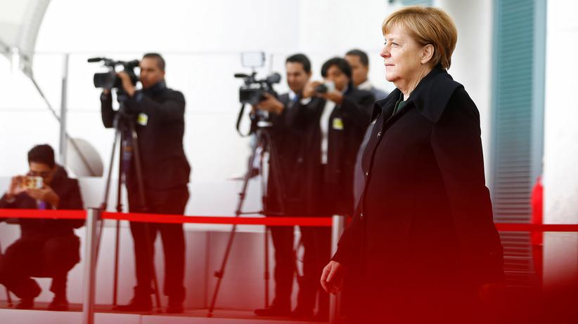 Angela Merkel am Kanzleramt. Wie lange will sie den Job noch machen?